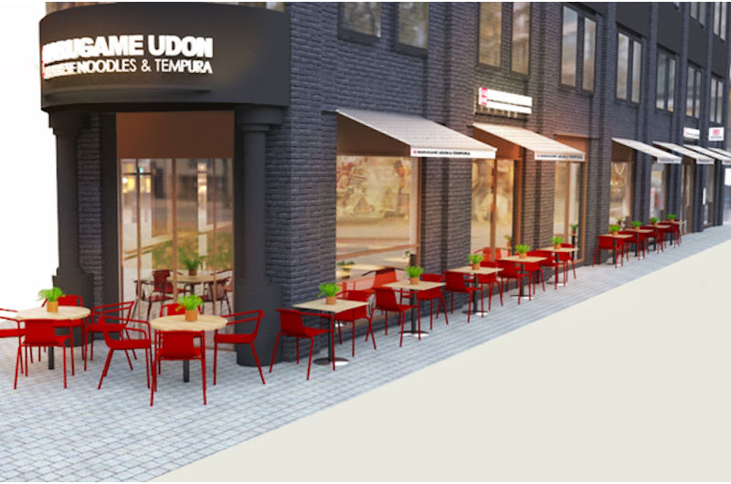 World's largest udon noodle restaurant chain Marugame to open 1st UK site near Liverpool Street Station